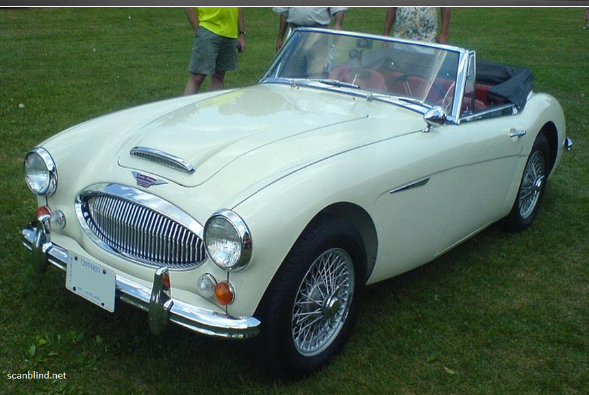The Austin-Healey Sports Car