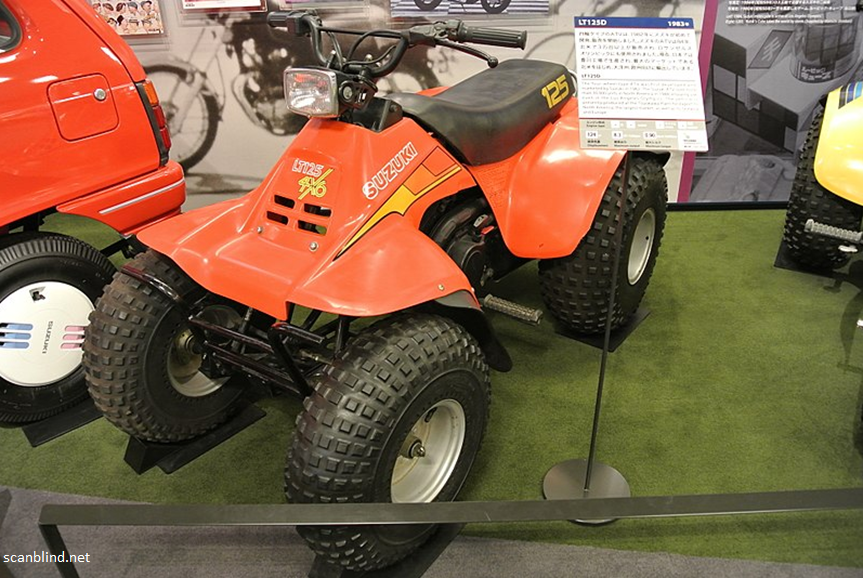 The Suzuki ATV Come Out on Top
