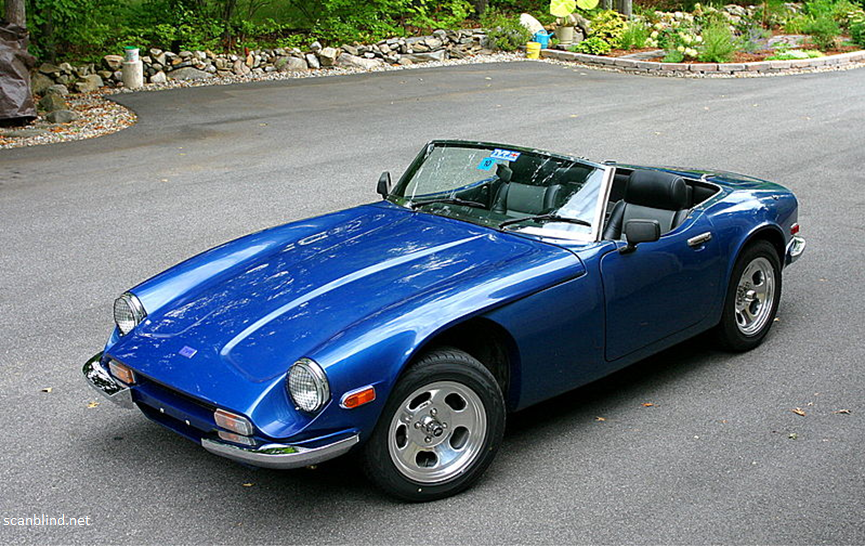 The TVR 3000M Sports Car