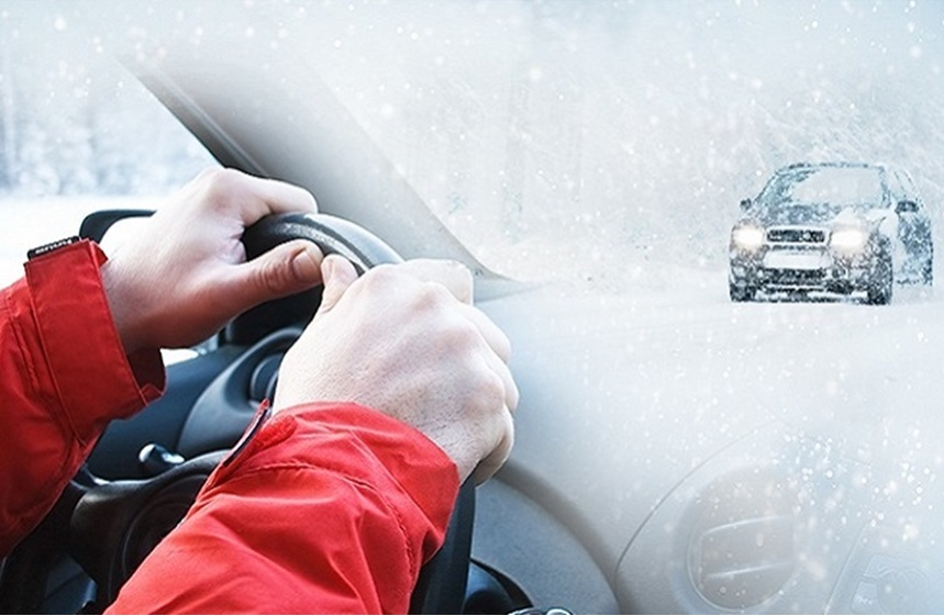 How to drive with ice safely